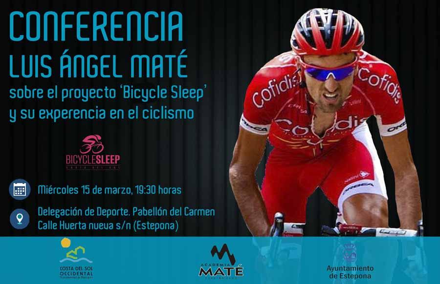 Mancomunidad Mancomunidad La Mancomunidad organiza una serie de conferencias del ciclista Luis Ángel Maté para promocionar el cicloturismo
