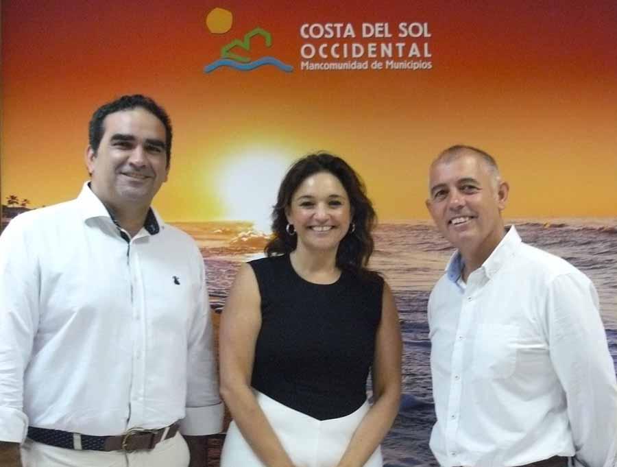 Mancomunidad Mancomunidad Acosol y el Ayuntamiento de Manilva colaboran para garantizar el suministro de agua al municipio