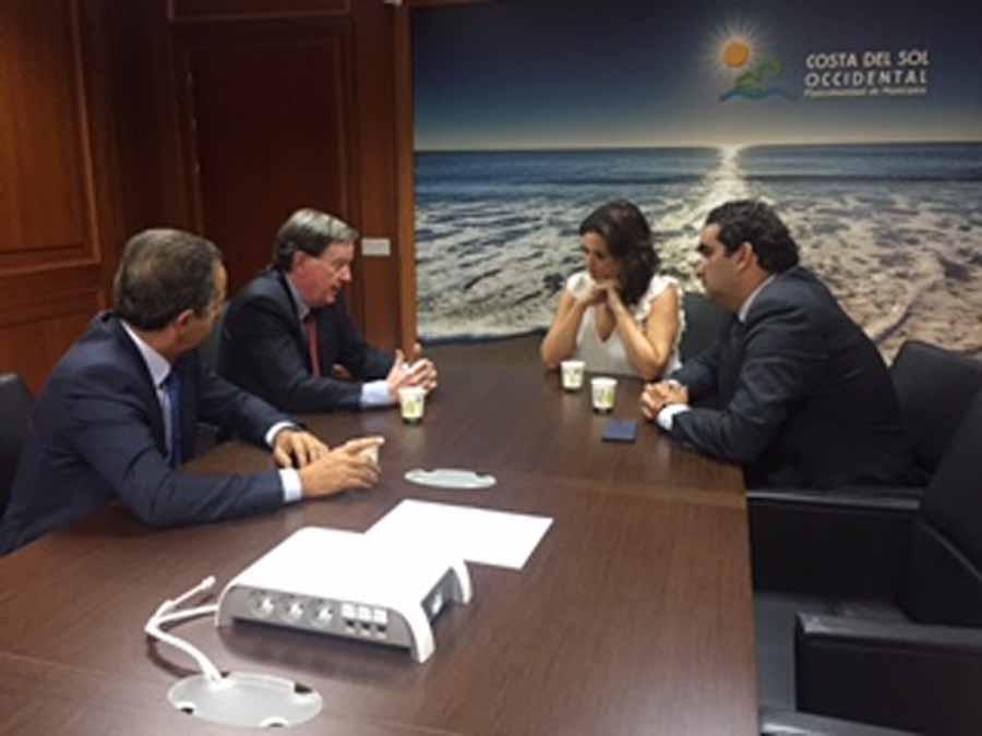 Mancomunidad Mancomunidad Acosol se reúne con AEAS para plantear sinergias en la gestión del agua