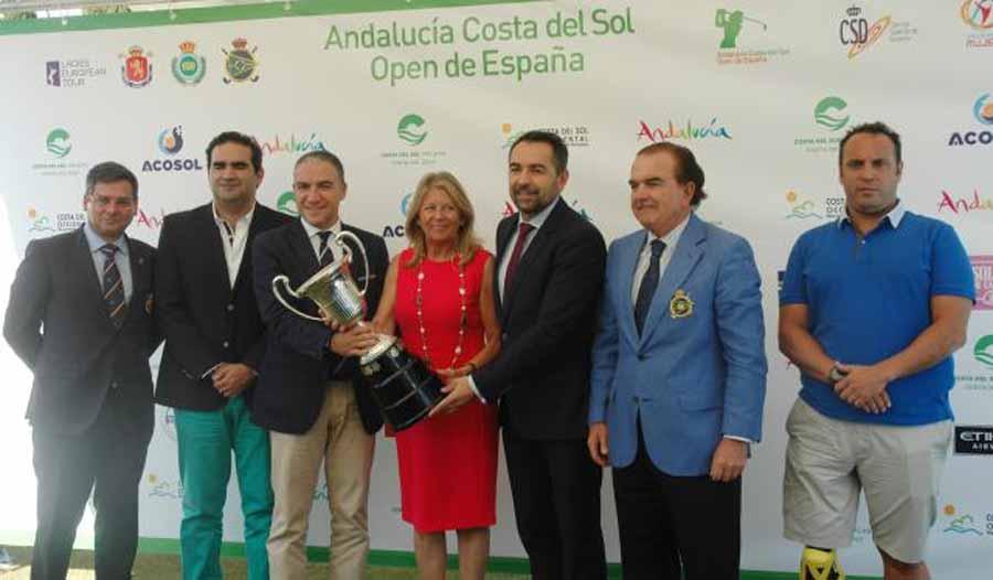 Mancomunidad Mancomunidad El Andalucía Costa del Sol Open de España, un evento deportivo de máximo nivel que genera empleo y riqueza