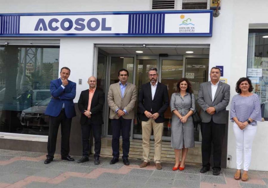 Mancomunidad Mancomunidad Acosol abre una oficina de atención al usuario en Mijas más moderna y operativa