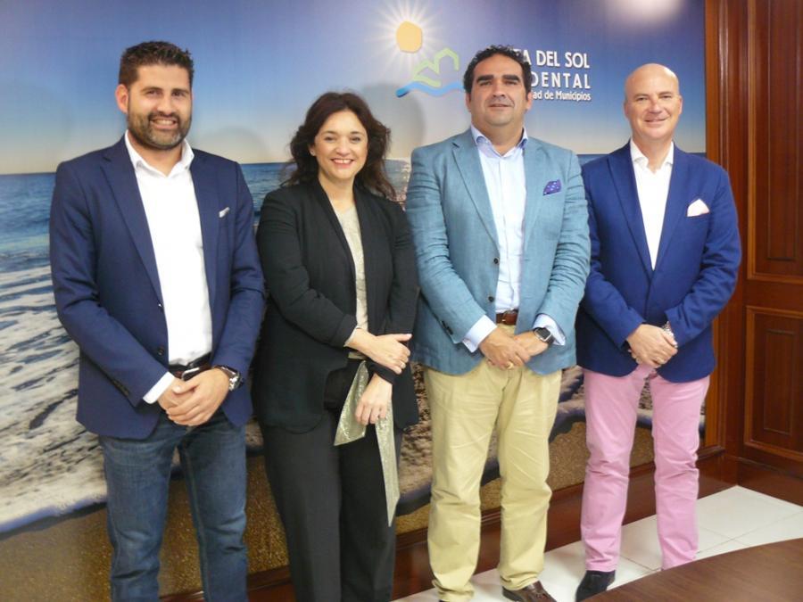 Mancomunidad Mancomunidad Acosol firma un convenio con vodafone para desarrollar la nueva tecnología NB-IoT con la telelectura de contadores inteligentes