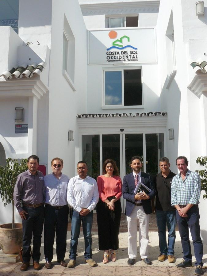 Mancomunidad Mancomunidad Gestores de residuos de México se interesan por el modelo de gestión que realiza la Mancomunidad
