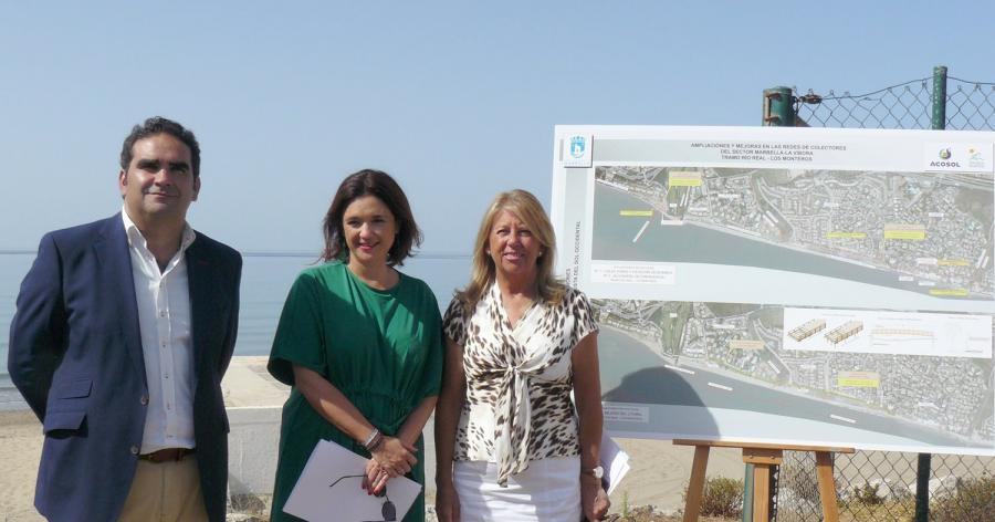 Mancomunidad Mancomunidad Acosol  invertirá 6 millones de euros en trasladar los colectores de Río Real-Los Monteros fuera de la playa