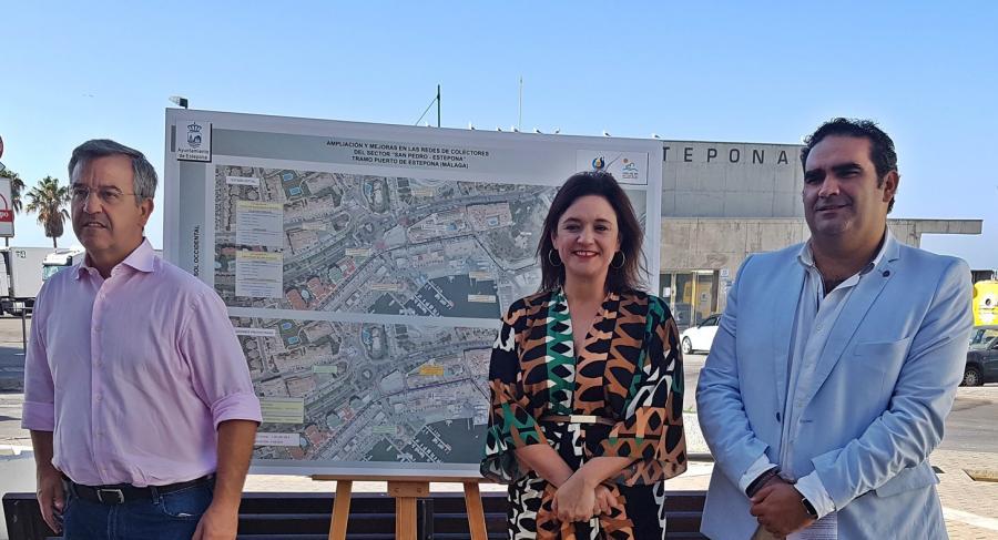 Mancomunidad Mancomunidad Acosol  invertirá más de 1,5 millones de euros en ampliar la red de colectores de saneamiento del Puerto de Estepona