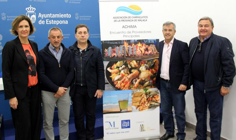 Estepona Estepona Sabor a Málaga con la Asamblea Anual de la Asociación de Chiringuitos de la Provincia de Málaga