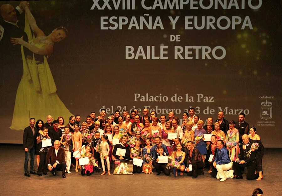 Fuengirola Fuengirola Las Finales del Campeonato de Europa de Tango y Bachata 2019 brillaron con luz propia en el Palacio de la Paz