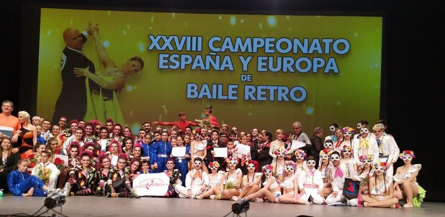 Fuengirola Fuengirola Espectacular Final de los Campeonatos Combinados de Europa de Retro y de Europa Caribeño y de las Formaciones en el Palacio de la Paz de Fuengirola