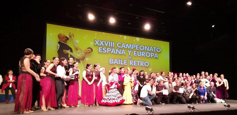 Fuengirola Fuengirola Broche de oro al XXVIII Campeonato de España y de Europa de Baile Retro con los Campeonatos de Formaciones de Danza Española y del Campeonato de España de Sevillanas