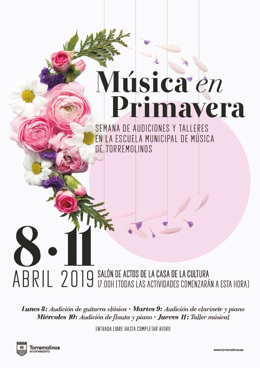 Torremolinos Torremolinos La Escuela Municipal de Música celebra una semana de audiciones del alumnado de sus talleres
