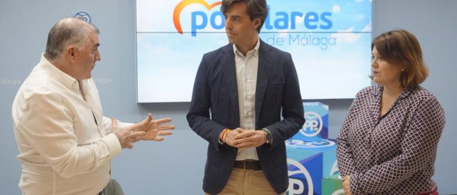"""Malaga Malaga Montesinos critica la alianza del PSOE """"con aquellos que atacan a las fuerzas de seguridad"""""""