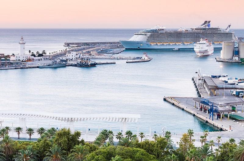 Malaga Malaga Málaga promociona la oferta del Puerto y el destino en Seatrade Cruise Global