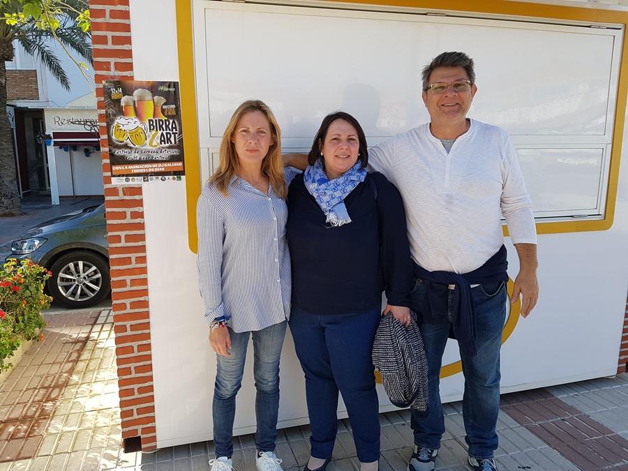 """Mijas Mijas Solidaridad con la Asociación Carmen Leyre, la bebe con una enfermedad rara que tendrá una mesa informativa y sorteos en el Festival de Cerveza Artesana """"Birra & Art"""" de La Cala de Mijas del 12 al 14 de abril"""