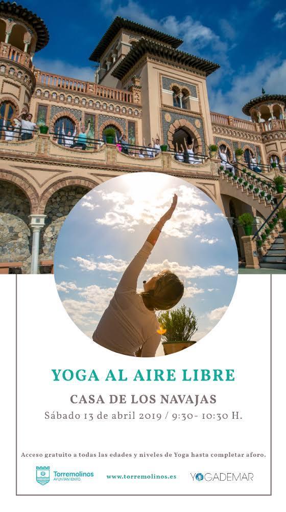 Torremolinos Torremolinos La Casa de los Navajas acoge este sábado una nueva sesión gratuita de yoga al aire libre