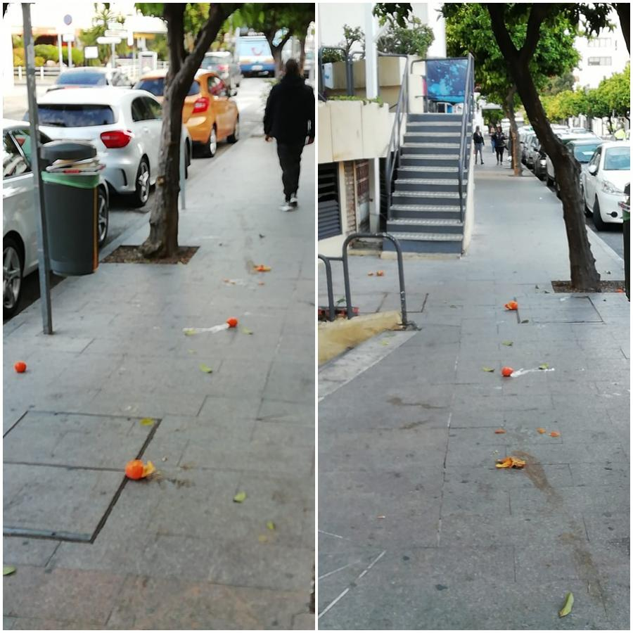 Torremolinos Torremolinos Accidentes en Torremolinos por la falta de mantenimiento y limpieza de la vía pública