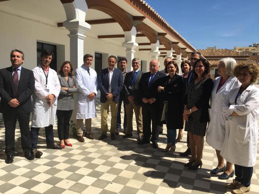 Torremolinos Torremolinos El consejero de Salud anuncia la reforma del Hospital Marítimo de Torremolinos con una dotación de más de 3 millones y el traslado de consultas de Oftalmología y Salud Mental para descongestionar el Clínico