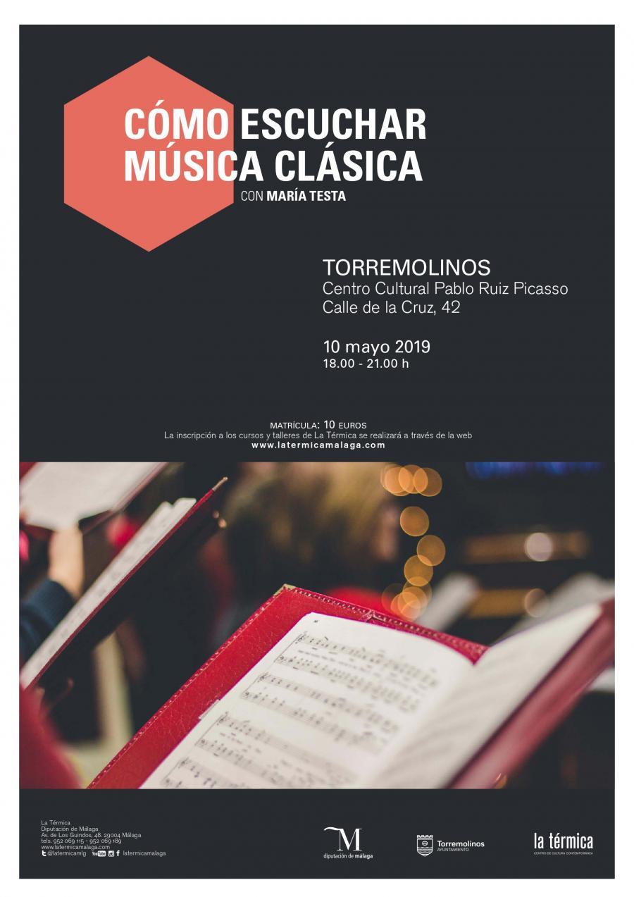 Torremolinos Torremolinos Un taller impartido por La Térmica enseñará las claves de cómo escuchar y disfrutar la música clásica