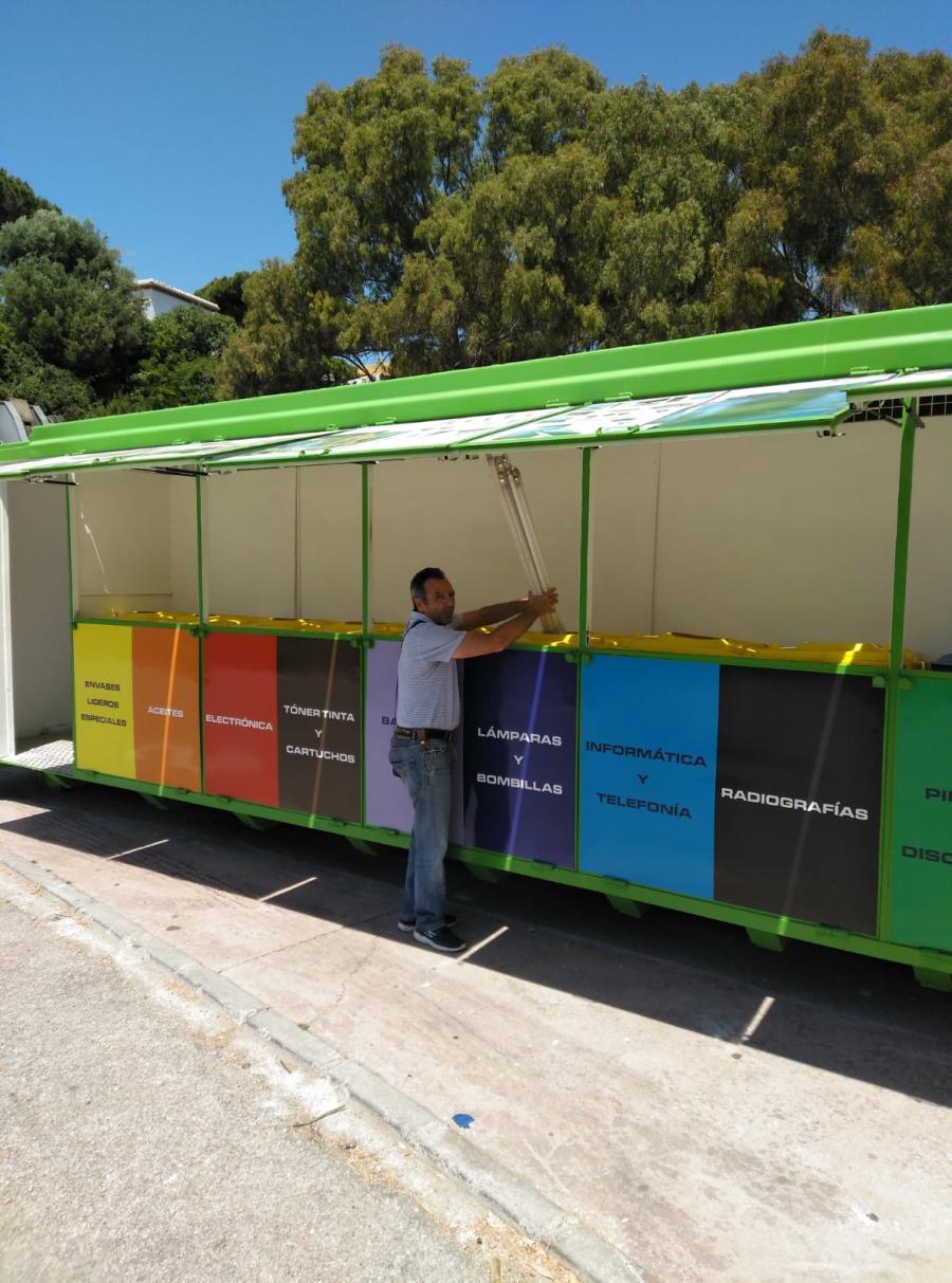 Mijas Mijas Ángel Nozal creará un punto limpio en Mijas Pueblo y otro en Las Lagunas