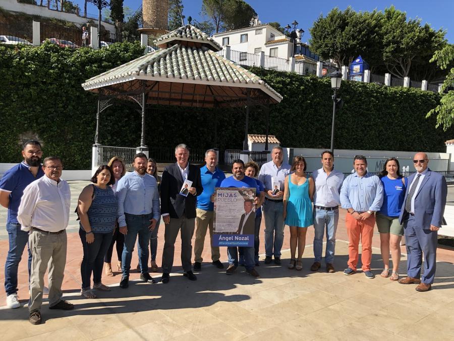 Mijas Mijas Ángel Nozal fija como prioridades para el Pueblo la construcción del segundo parking y la garantía de suministro de agua
