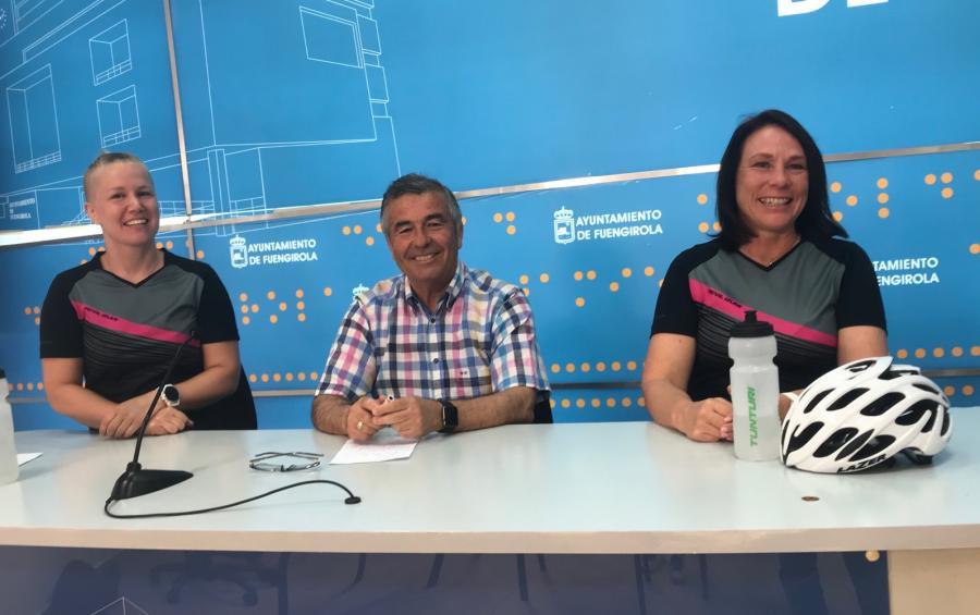 Fuengirola Fuengirola Dos deportistas finlandesas darán la vuelta a España en bicicleta partiendo de Fuengirola para concienciar sobre el deterioro del medio ambiente a partir del 21 de mayo