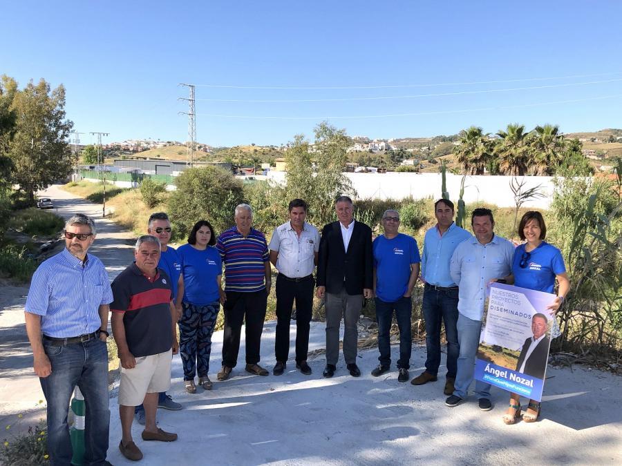 Mijas Mijas Ángel Nozal retomará el proceso de regularización de viviendas y la dotación de agua corriente en los diseminados