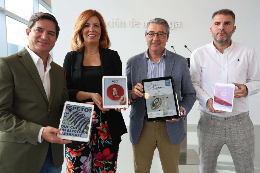 Malaga Malaga La Diputación presenta la primera publicación smart dedicada al sector agroalimentario