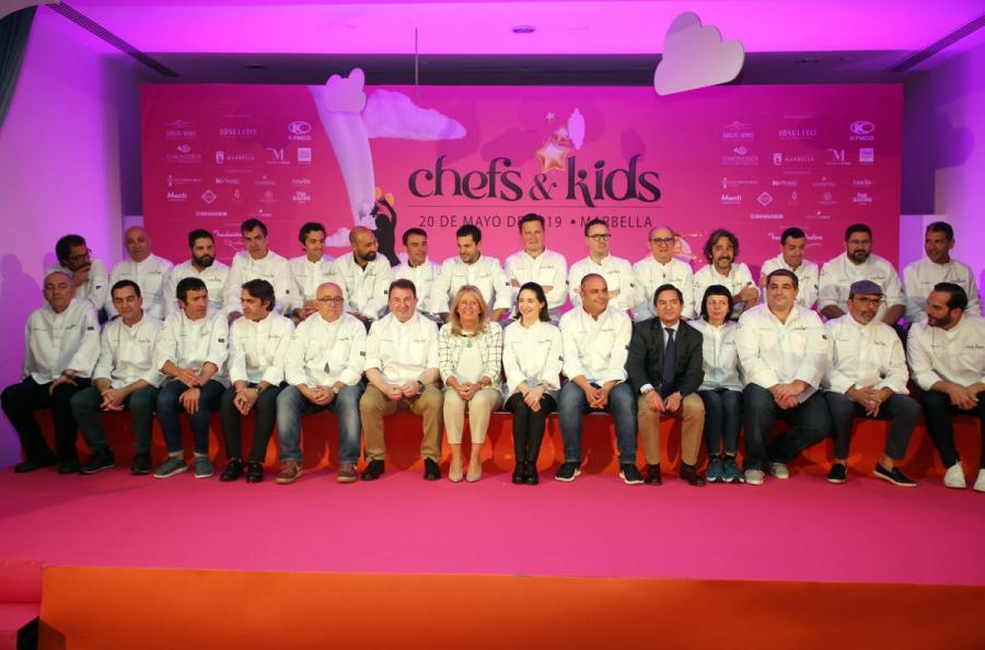 """Marbella Marbella La alcaldesa reivindica en la apertura del Chefs&Kids """"la gastronomía como un valor añadido para el turismo, ámbito en el que Marbella es un gran referente"""""""