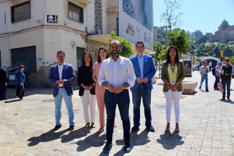 Malaga Malaga Cs presenta 15 proyectos para transformar Málaga que buscan ampliar el Centro Histórico, asomar la ciudad al mar y dar calidad de vida a los barrios