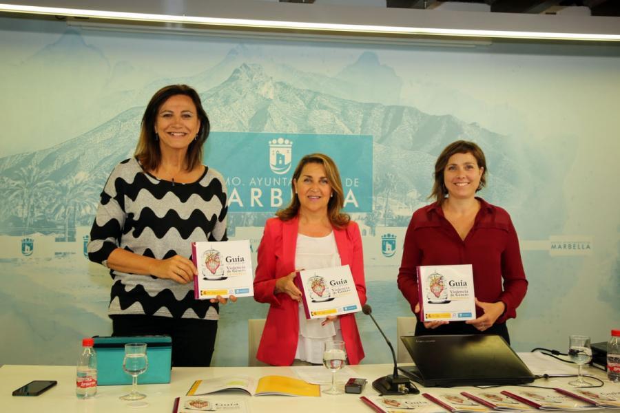 Marbella Marbella El Ayuntamiento de Marbella edita una guía informativa que ofrece a las mujeres indicadores y herramientas frente a la violencia de género económica