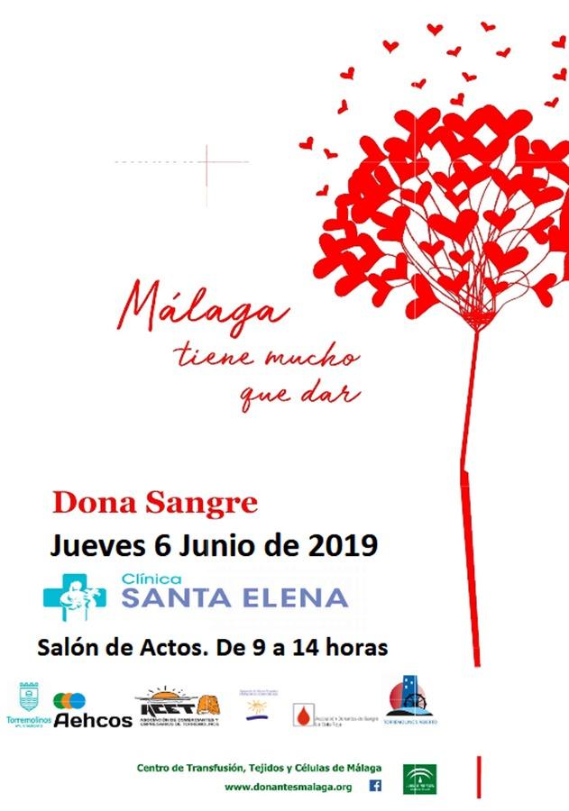 Torremolinos Torremolinos Torremolinos acoge este jueves una jornada especial de donación de sangre en la Clínica Santa Elena