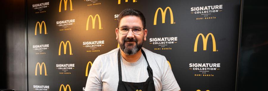 Actualidad Actualidad McDonald's y Dani García se unen para democratizar la cocina de autor, con los sabores exclusivos de Signature Collection