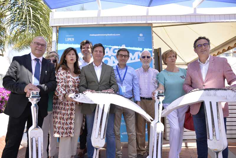 Malaga Malaga Dos demostraciones de cocina centran la programación de 'Sabor a Málaga' en la primera jornada de Málaga Gastronomy Festival
