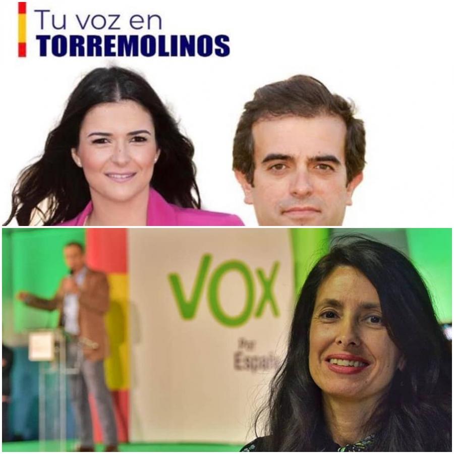 """Torremolinos Torremolinos La jefa de comunicación de Vox en Málaga, Sonia Crespo, apunta a """"una maniobra del PSOE la renuncia de Lucía Cuín que se rumorea que tiene apalabrada una concejalía y 2 cargos de confianza"""""""