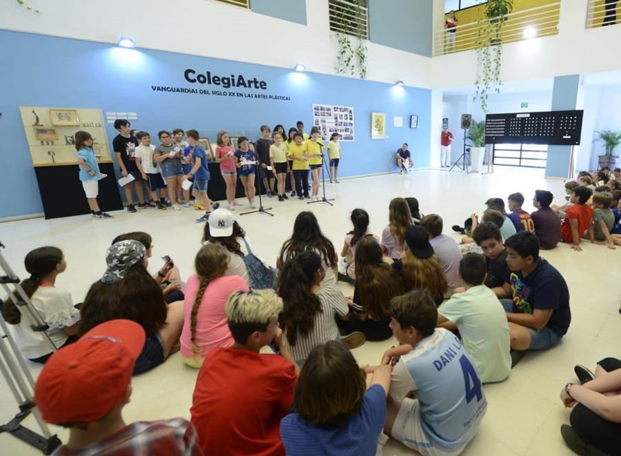 Torremolinos Torremolinos El Ayuntamiento de Torremolinos acoge la exposición ColegiArte con trabajos artísticos del alumnado