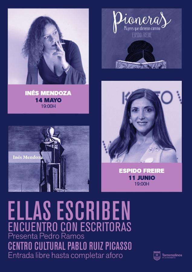 Torremolinos Torremolinos La escritora Espido Freire será la protagonista hoy del nuevo encuentro literario dentro del ciclo 'Ellas Escriben II' de Torremolinos