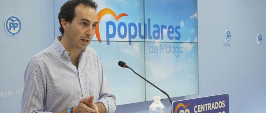 Malaga Malaga El PP destaca que el 25% de la inversión de la Junta en infraestructuras educativas es para Málaga
