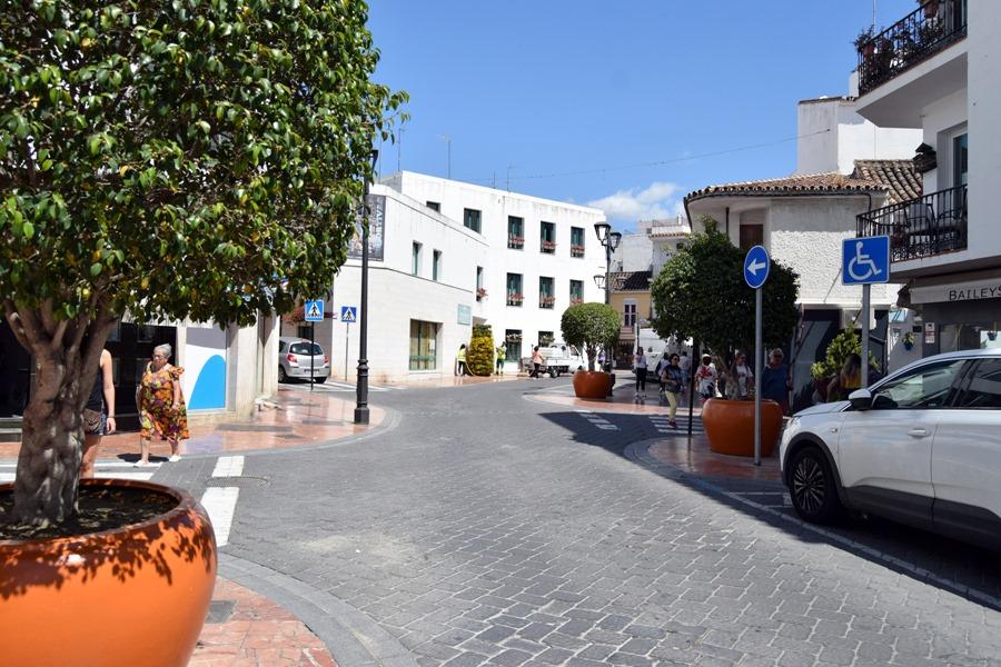 Estepona Estepona El Ayuntamiento de Estepona implantará la peatonalización parcial y provisional de un tramo de calle Terraza durante el verano
