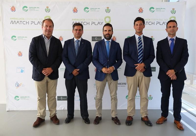 Malaga Malaga La Costa del Sol pone en valor su oferta de Golf en la presentación del Andalucía Costa del Sol Match Play 9