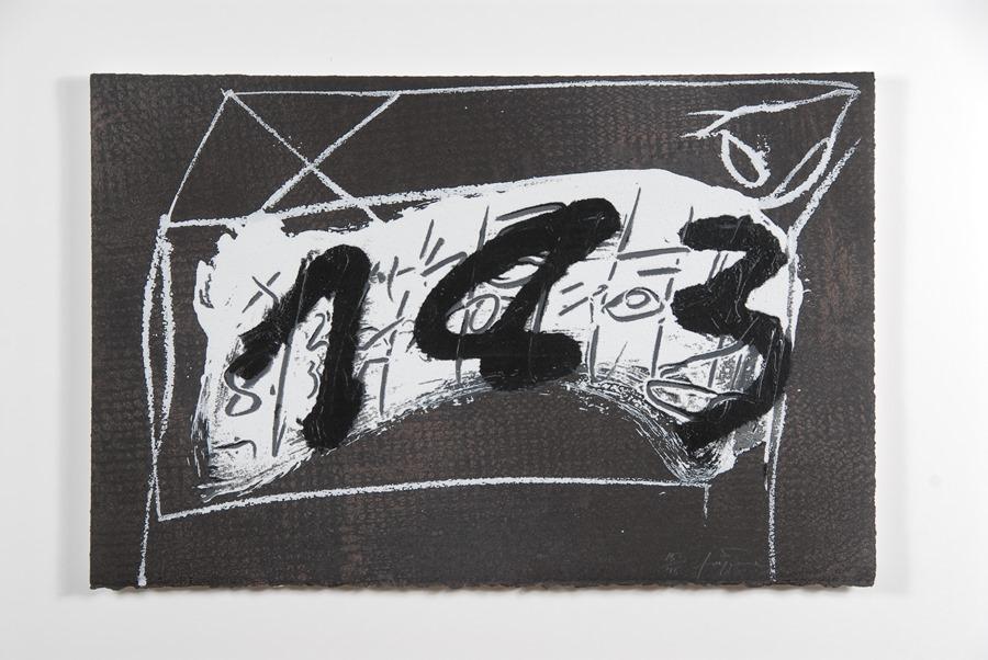 Mijas Mijas La obra gráfica de Antoni Tàpies llega a Mijas de la mano de La Térmica