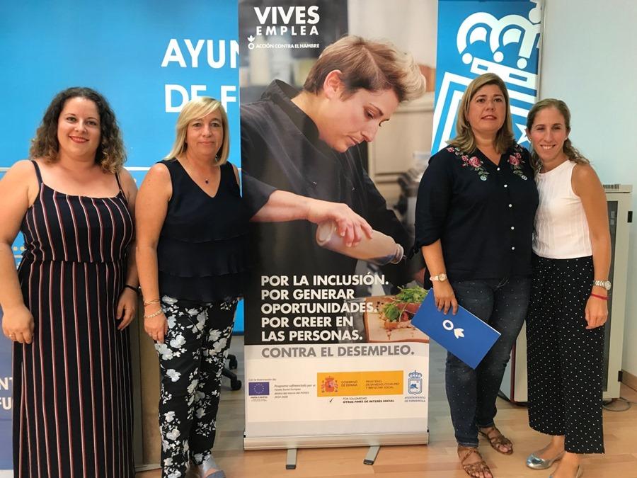 Fuengirola Fuengirola Un total de 25 fuengiroleños podrán mejorar sus posibilidades de insertarse en el mercado laboral a través del programa Vives Emplea