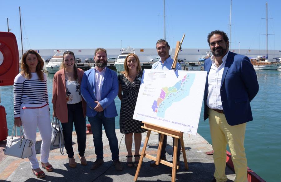 Mancomunidad Mancomunidad Los barcos de limpieza del litoral de la Mancomunidad Occidental y Acosol recogen más de 77 metros cúbicos de residuos durante el mes de junio