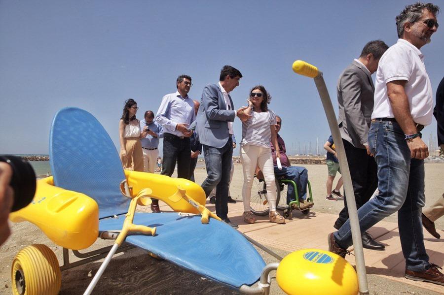 Actualidad Actualidad Turismo lanzará el próximo año una guía de playas accesibles de todo el litoral andaluz