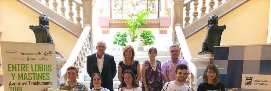 Malaga Malaga Cinco niños malagueños que han superado el cáncer participarán en la I Aventura Trashumante entre Lobos y Mastines