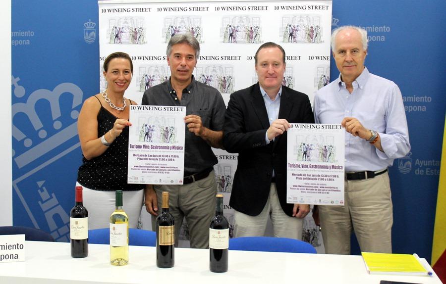 Estepona Estepona Estepona celebra el festival '10 Wineing Street' que se consolida como un reclamo enoturístico exclusivo en la Costa del Sol