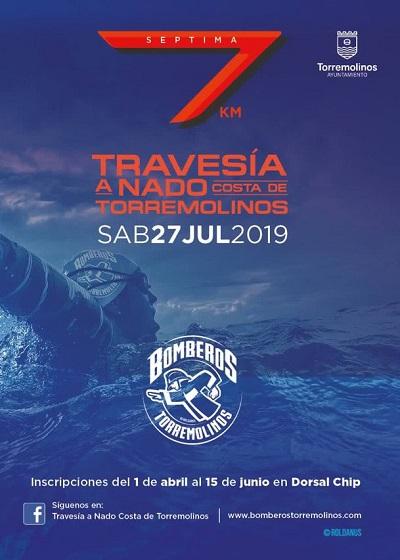 Torremolinos Torremolinos El próximo 27 de julio tendrá lugar la VII Travesía a nado 'Costa de Torremolinos'