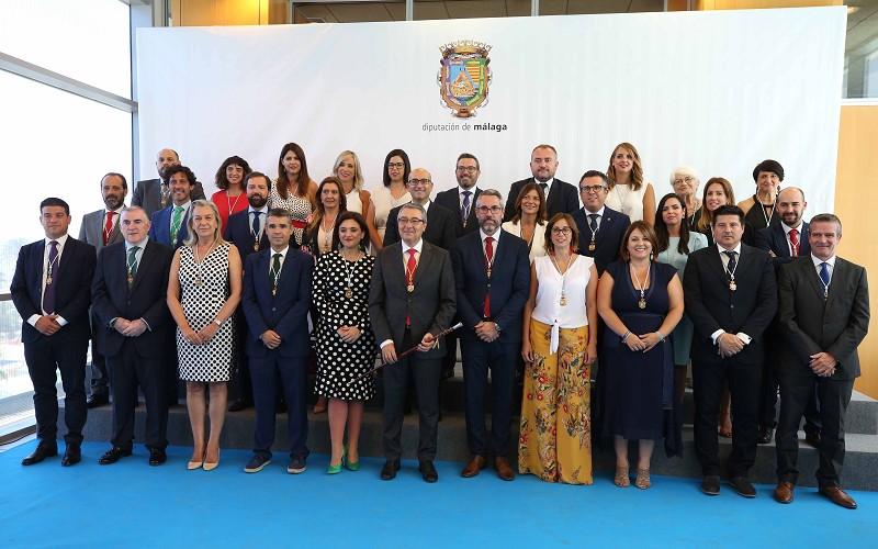 Malaga Malaga Salado anuncia que se reunirá con los 103 alcaldes de la provincia antes de final de año para diseñar la nueva Diputación