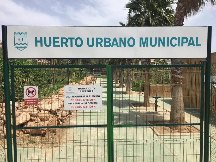 Torremolinos Torremolinos Primera reunión del nuevo concejal de Medio Ambiente con la Asociación de Huertos Urbanos de Torremolinos