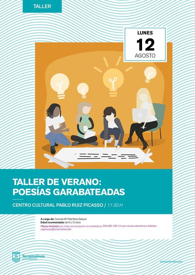 Torremolinos Torremolinos El Centro Cultural Pablo Ruiz Picasso de Torremolinos imparte un taller familiar para acercar al público infantil a la poesía