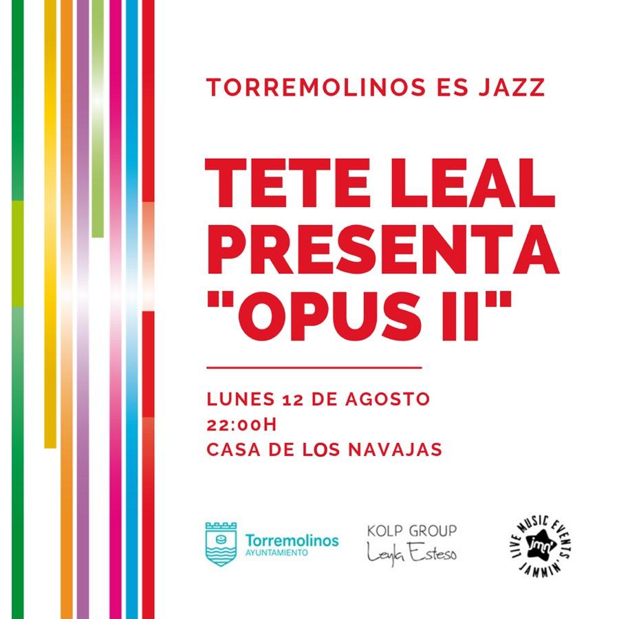 Torremolinos Torremolinos El director de orquesta y compositor Tete Leal estrena este lunes en un concierto exclusivo en Torremolinos su obra de jazz y ecos electrónicos 'Opus II'