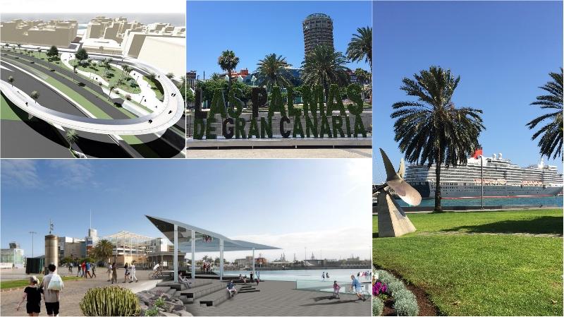 Actualidad Actualidad Las Palmas de Gran Canaria renueva su imagen como ciudad de cruceros